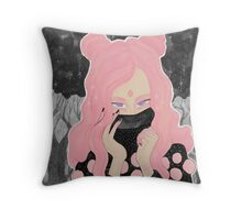 Pink Wicked Throw Pillow