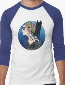 The Watcher and the Dreamer: color Men's Baseball ¾ T-Shirt