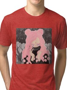 Pink Wicked Tri-blend T-Shirt