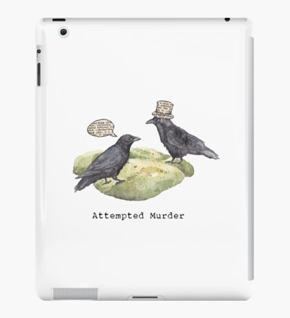 Attempted Murder iPad Case/Skin