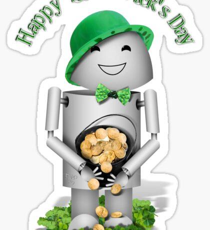 Happy St Patrick's Day Sticker
