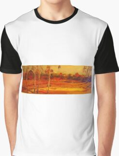 Along the dirt road Smiths Gully VIC Australia Graphic T-Shirt