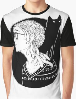 The Watcher and the Dreamer Graphic T-Shirt