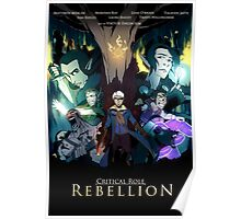 Critical Role: Rebellion Poster