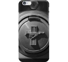 '69 Mustang Fuel Door iPhone Case/Skin