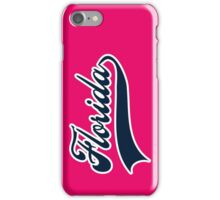 Florida typography iPhone Case/Skin