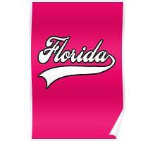 Florida typography Poster