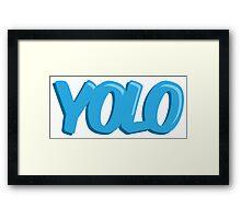 YOLO! Framed Print