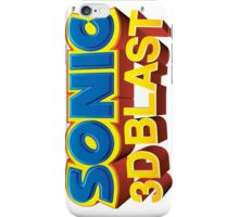 Sonic 3D BLAST Logo iPhone Case/Skin
