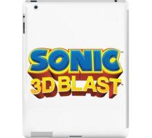 Sonic 3D BLAST Logo iPad Case/Skin
