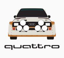 Audi Sport Quattro  One Piece - Short Sleeve