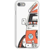 "VW Camper Van ""Orange Westy"" iPhone Case/Skin"