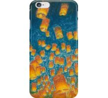 floating lantern iPhone Case/Skin