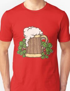 Beer Mug in Cartoon Style Unisex T-Shirt