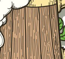 Beer Mug in Cartoon Style Sticker