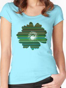 Flower 21 Women's Fitted Scoop T-Shirt