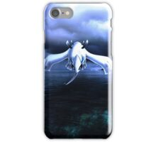 Lugia accros the sea iPhone Case/Skin