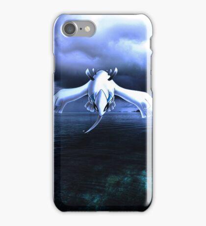Lugia accros the sea iPhone Case/Skin
