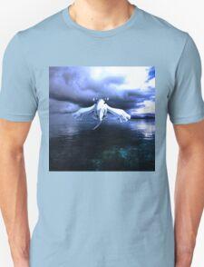 Lugia accros the sea Unisex T-Shirt