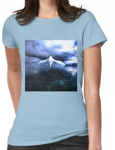 Lugia accros the sea Womens Fitted T-Shirt