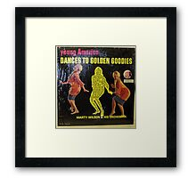 yOUNG AMERICA dANCES tO gOLDEN gOODIES Framed Print