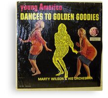 yOUNG AMERICA dANCES tO gOLDEN gOODIES Canvas Print