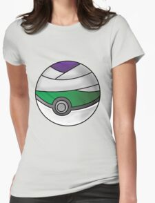 Piccolo Pokeball Womens Fitted T-Shirt