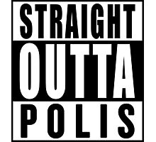 Straight Outta Polis (The 100) Photographic Print