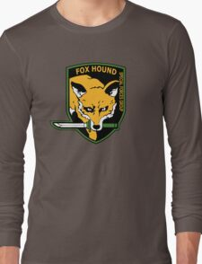 MGS -  Foxhound SFG Logo Long Sleeve T-Shirt