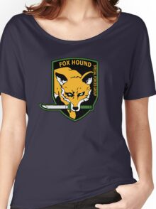 MGS -  Foxhound SFG Logo Women's Relaxed Fit T-Shirt