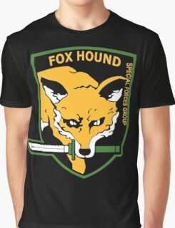 MGS -  Foxhound SFG Logo Graphic T-Shirt