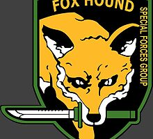 MGS -  Foxhound SFG Logo by Chris McLeary