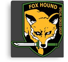 MGS -  Foxhound SFG Logo Canvas Print