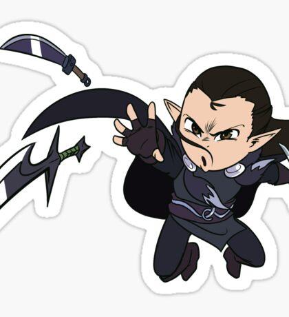 Dagger, dagger, dagger! Sticker