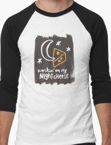 Workin' on my Night Cheese Men's Baseball ¾ T-Shirt