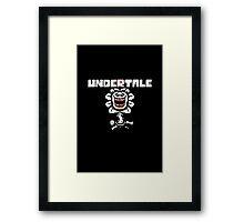 Undertale - Flowey Framed Print