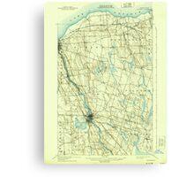 New York NY Fulton 138193 1900 62500 Canvas Print