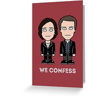 Dorian and Toby Greeting Card