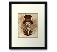SIR MACHINE Framed Print