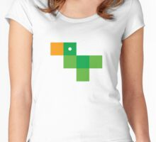 Pixel by pixel – Parrot Women's Fitted Scoop T-Shirt