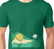 Sleepy Snivy By SnowyTurtle Unisex T-Shirt