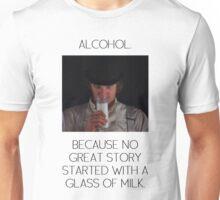ALCOHOL vs MILK Unisex T-Shirt