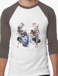 Fire Emblem Fates - Hoshido VS Nohr Men's Baseball ¾ T-Shirt