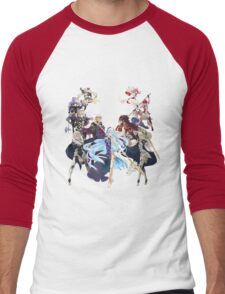 Fire Emblem Fates - Hoshido VS Nohr Men's Baseball ¾ T-Shirt