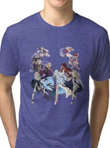 Fire Emblem Fates - Hoshido VS Nohr Tri-blend T-Shirt