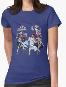 Fire Emblem Fates - Hoshido VS Nohr Womens Fitted T-Shirt
