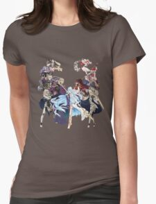 Fire Emblem Fates - Hoshido VS Nohr Womens Fitted T-Shirt