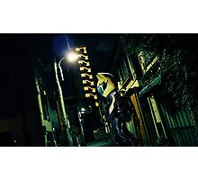 Celty in Tokyo Photographic Print