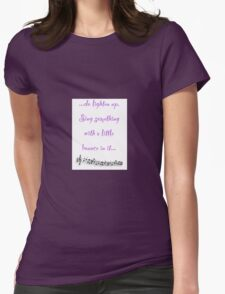 ...do lighten up. Sing something with a little bounce in it... T-Shirt
