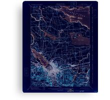 New York NY Syracuse 144333 1898 62500 Inverted Canvas Print
